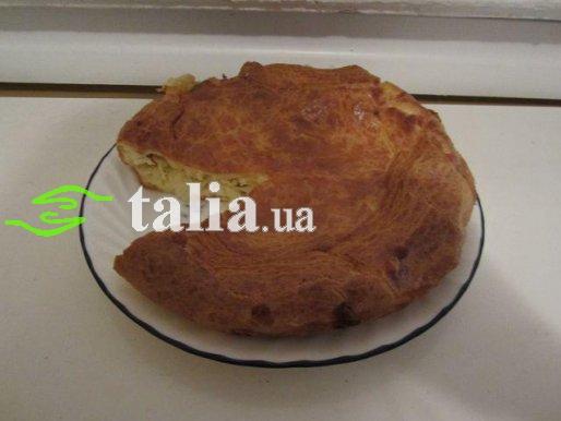 Рецепт. Луковый пирог плавленый сыр