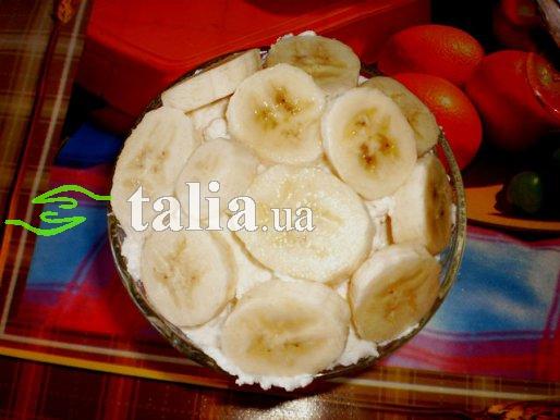 Рецепт. Мусс вишневый с бананом