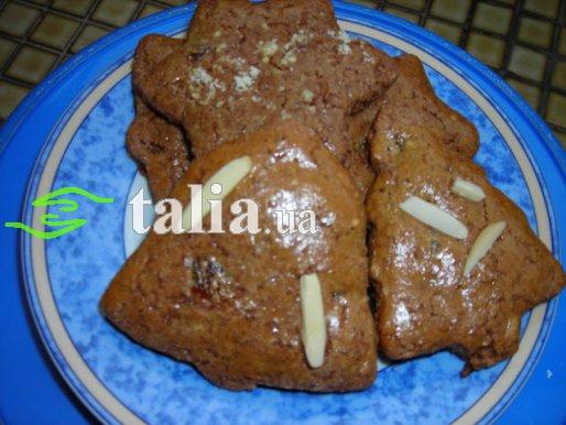 Рецепт. Имбирные пряники с шоколадом