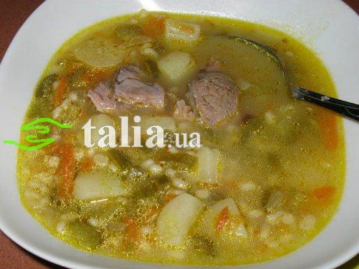 Рецепт. Рассольник с рисом и мясом