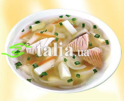 Рецепт. Черниговский рыбный суп