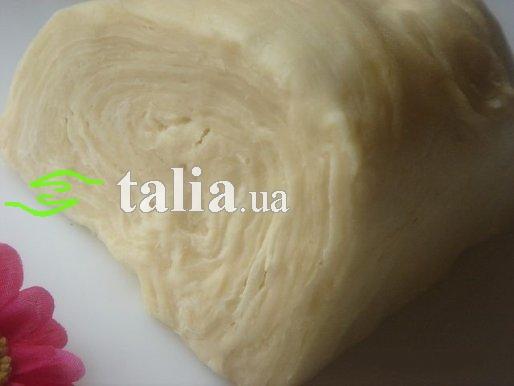 Рецепт. Слоеное тесто (дрожжевое)