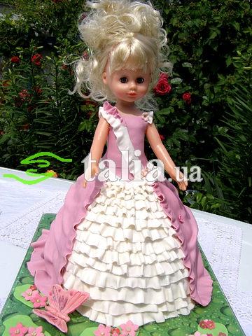 Рецепт. Торт Барби (торт кукла)