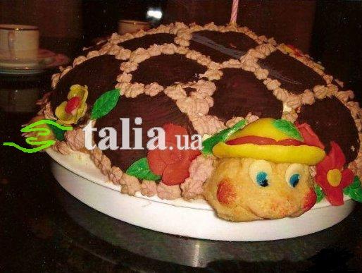 Рецепт. Торт Черепаха