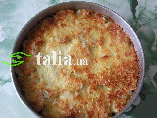 Рецепт. Картофельная запеканка с мясом