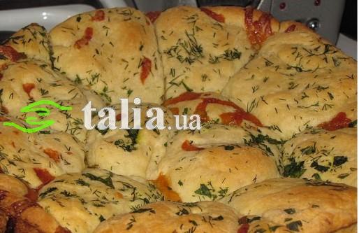 Рецепт. Хлебцы к борщу с сыром