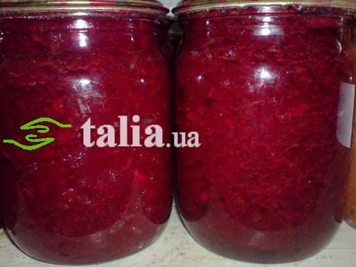 Рецепт. Борщ на зиму с болгарским перцем