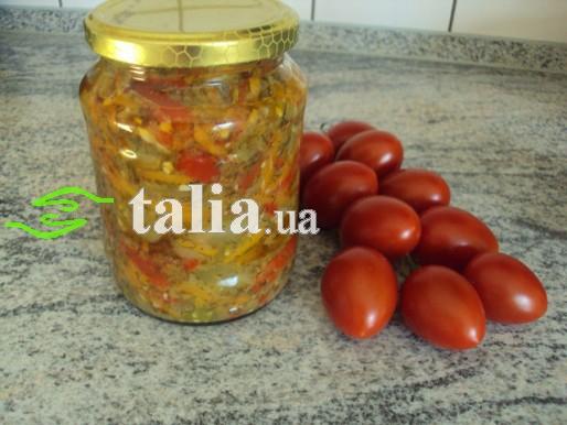 Рецепт. Салат на зиму без стерилизации