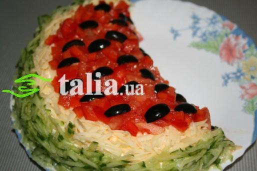 Рецепт. Салат ''Долька''
