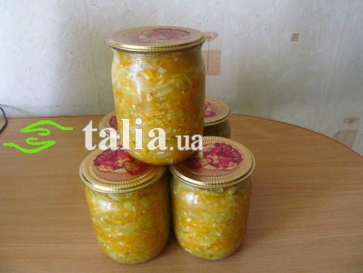 Рецепт. Салат из огурцов на зиму