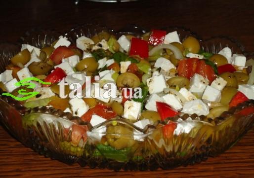 Рецепт. Оливковый салат