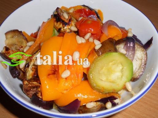 Рецепт. Овощной салат