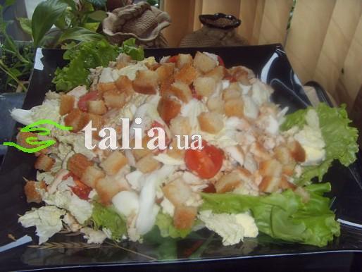 Рецепт. Салат ''Цезарь''