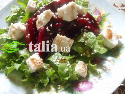 Рецепт. Салат из буряка