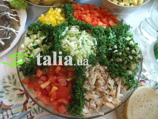 Рецепт. Салат ''Козёл''