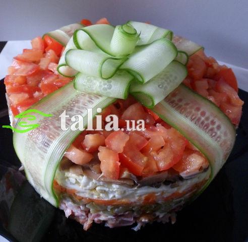 Рецепт. Салат на День рождения