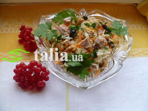 Рецепт. Салат с курицей