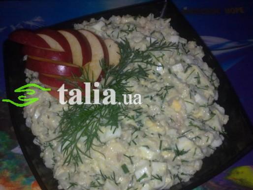 Рецепт. Салат с рисом