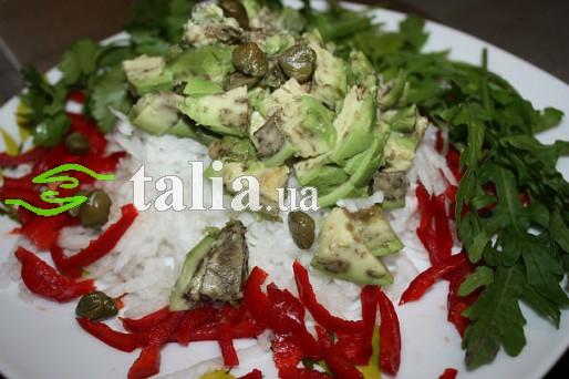 Рецепт. Зимний салат