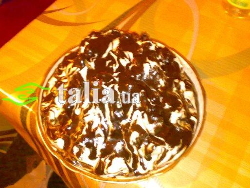 Рецепт. Шоколадный торт с вишней