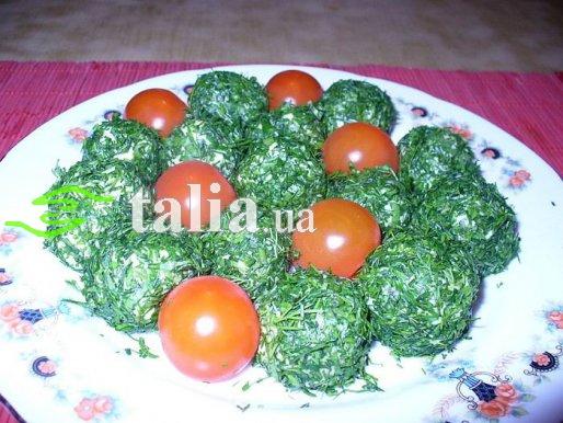 Рецепт. Пикантные сырные шарики