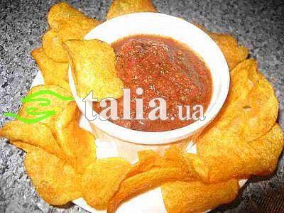 Рецепт. Томатный соус (острый)