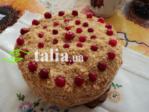 Рецепт. Торт творожный ''Наполеон''