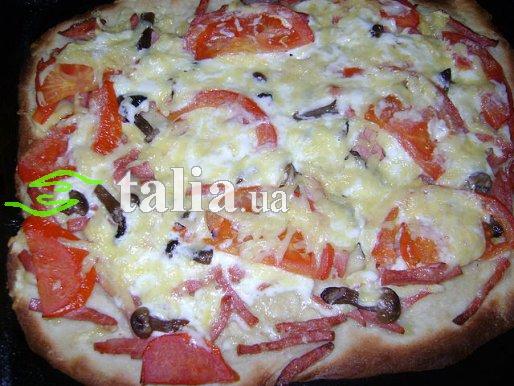 Рецепт. Начинка для пиццы
