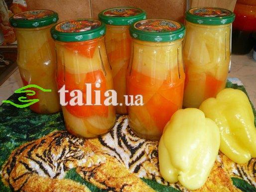 Рецепт. Перец маринованный с медом