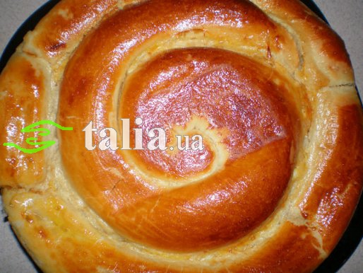 Рецепт. Тесто для пирога с солеными начинками (дрожжевое)