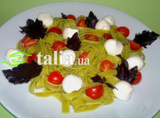 Рецепт. Макароны по-итальянски с помидорами