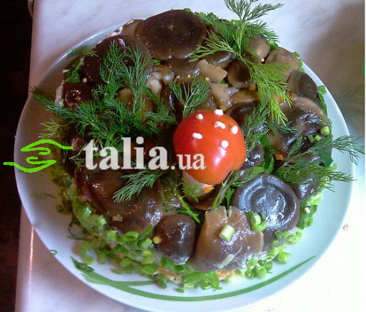 Рецепт. Салат ''Поляна''
