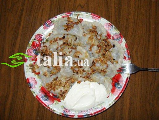 Рецепт. Вареники с мясом (отварным)