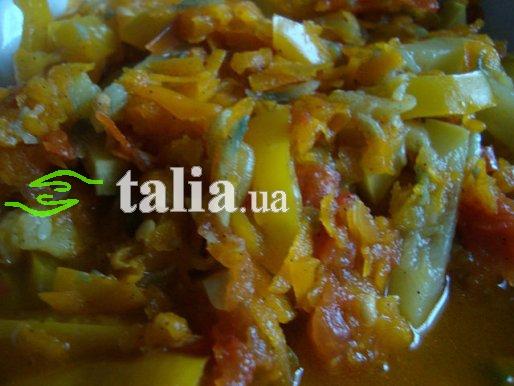 Рецепт. Тушеные кабачки в апельсиновом соке