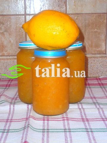 Рецепт. Варенье из кабачков с лимоном и апельсином