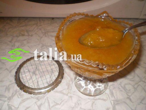 Рецепт. Вареньеиз персиков. Персиковое варенье
