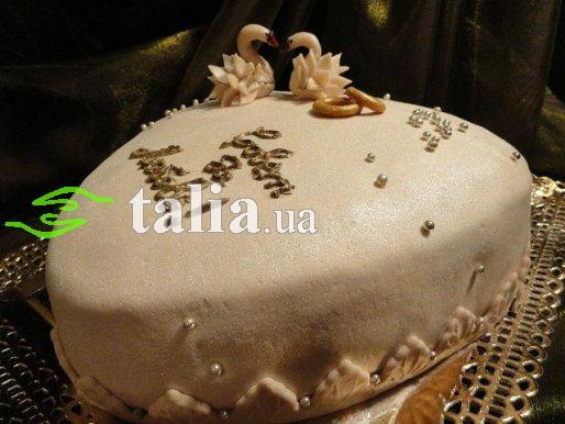 Рецепт. Свадебный торт