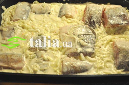 Рецепт. Пеленгас в духовке запеченный