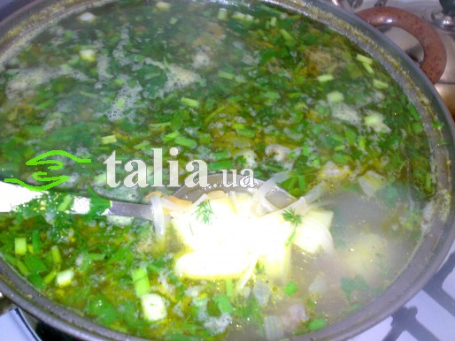 Рецепт. Обычный суп