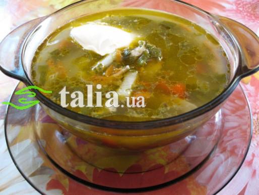 Рецепт. Легкий суп