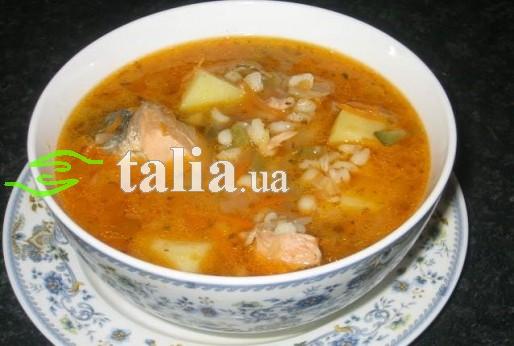 Рецепт. Суп из консервов