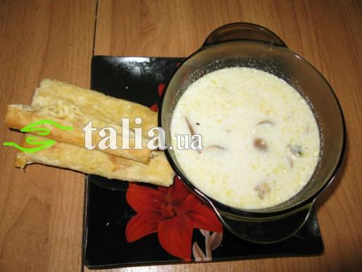 Рецепт. Грибной суп