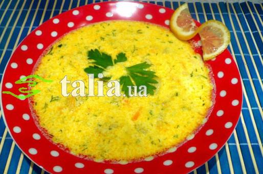 Рецепт. Суп из лосося