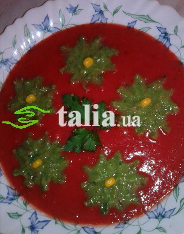 Рецепт. Красный суп