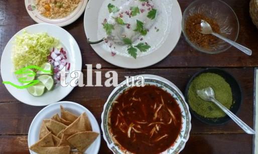 Рецепт. Мексиканский суп