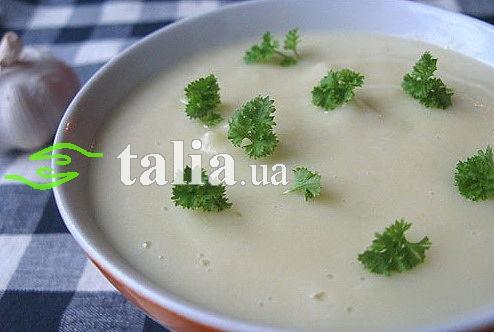 Рецепт. Чесночный суп