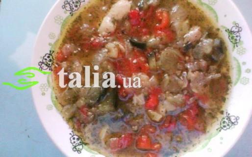 Рецепт. Суп с баклажанами
