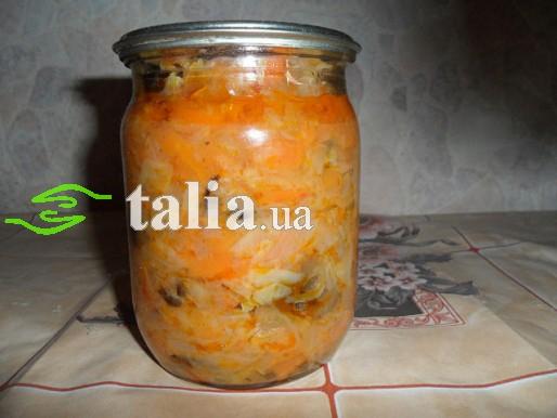 Рецепт. Суп консервированный с капустой