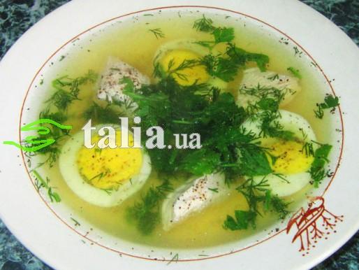 Рецепт. Суп с яйцом
