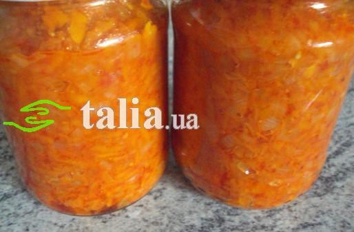 Рецепт. Заправка для супа на зиму с помидорами